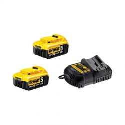 DEWALT XR 18,0 Volt / 5,0 Ah Starter Kit