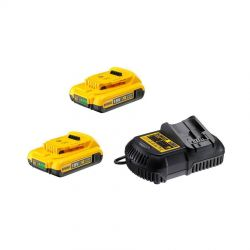 DEWALT XR 18,0 Volt / 2,0 Ah Starter Kit