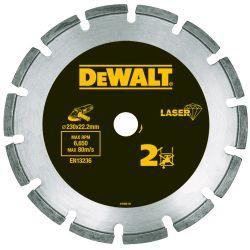 DEWALT Diamant-Trennscheibe Abrasiv/Beton HP 230mm