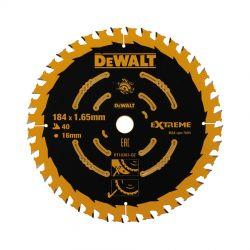 DEWALT EXTREME Kreissägeblatt 184mm für Handkreissägen ohne Spaltkeil
