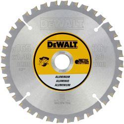 DEWALT Metallkreissägeblatt 165mm für Akku-Handkreissägen